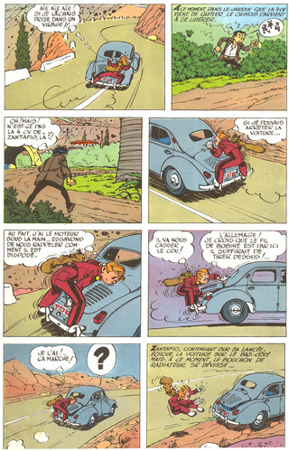 Spirou La mauvaise tête Page 40
