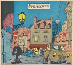 Gil Jourdan Les cargos du crépuscule Page 3  (M. Tillieux)
