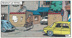 Gil Jourdan Sur la piste d'un 33 tours Page 5  (M. Tillieux)