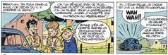 Gil Jourdan Les enquêtes de leurs amis Le secret de Nicolas Flamel Page 14  (Bom & Seron)