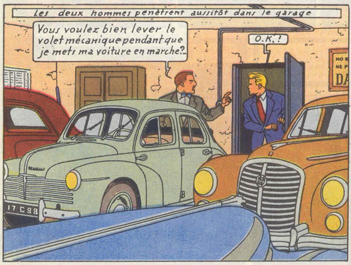 Les aventures de Lefranc La grande menace  (Jacques Martin)