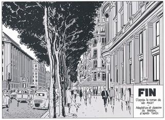 Nestor Burma Boulevard… Ossements Page 85 Dessiné par Nicolas Barral - 2013