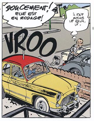 Garage de Paris Tome 1 10 histoires de voitures populaires Page 35