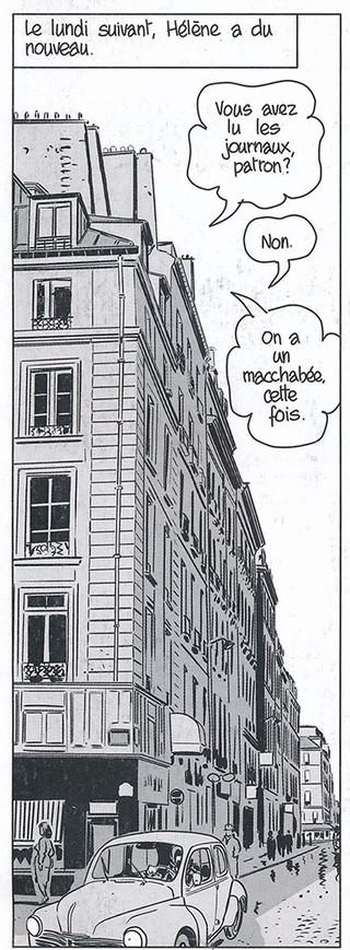 Nestor Burma Boulevard… Ossements Page 62 Dessiné par Nicolas Barral - 2013