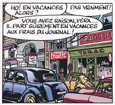 Jacques Gipar Le gang des Pinardiers Page 8  (Delvaux-Dubois)