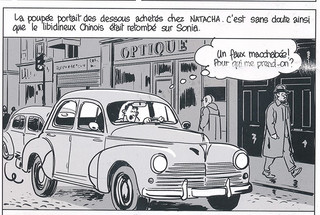 Nestor Burma Boulevard… Ossements Page 57 Dessiné par Nicolas Barral - 2013