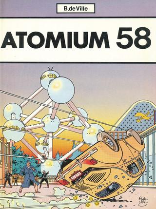L'inconnu de la tamise Tome 3 : Atomium 58 Couverture