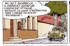 Jacques Gipar Le gang des Pinardiers Page 22  (Delvaux-Dubois)