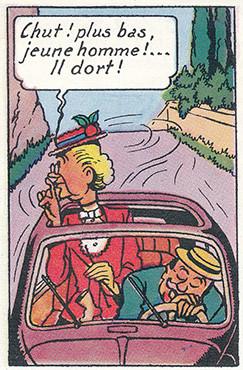 Bob & Bobette La clef de bronze Page 10  (W. Vandersteen)