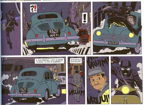 Les aventures de Kaplan & Masson La théorie du chaos Page 23  (Jean-Christophe Thibert) (Scenario Didier Convard)
