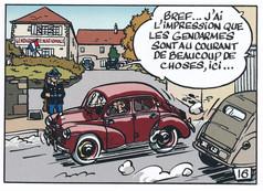 Jacques Gipar Le retour des capucins Page 18  (Delvaux-Dubois)