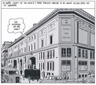 Nestor Burma Boulevard… Ossements Page 69 Dessiné par Nicolas Barral - 2013