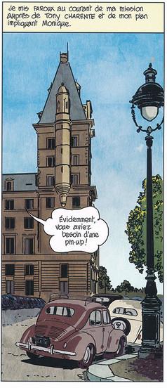 Nestor Burma Corrida aux Champs-Elysèes Page 59 2019