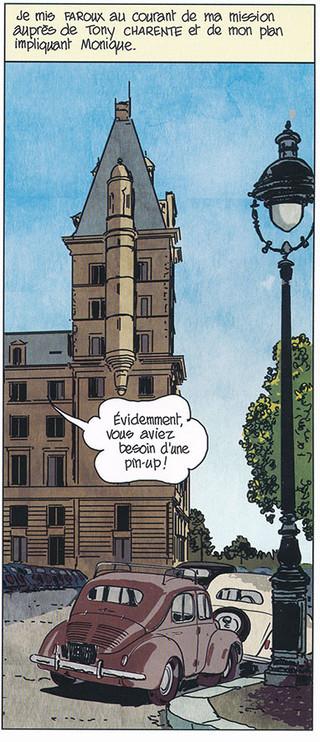 Nestor Burma Corrida aux Champs-Elysées Page 59 Dessiné par Nicolas Barral - 2019