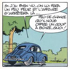 Gil Jourdan Les enquêtes de leurs amis Le secret de Nicolas Flamel Page 12  (Bom & Seron)