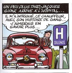 Jacques Gipar Le gang des Pinardiers Page 7  (Delvaux-Dubois)