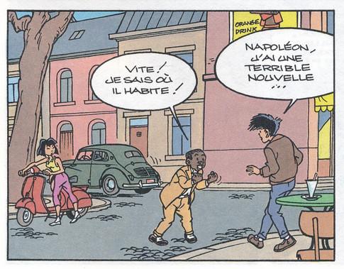 Jimmy Tousseul L'homme brisé Page 15  (Desberg-Desorgher)