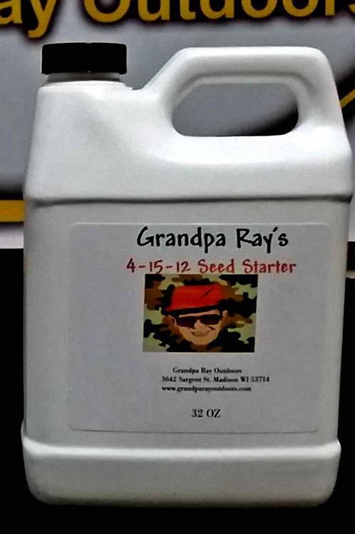 4-15-12 Seed Starter 32oz. Bottle