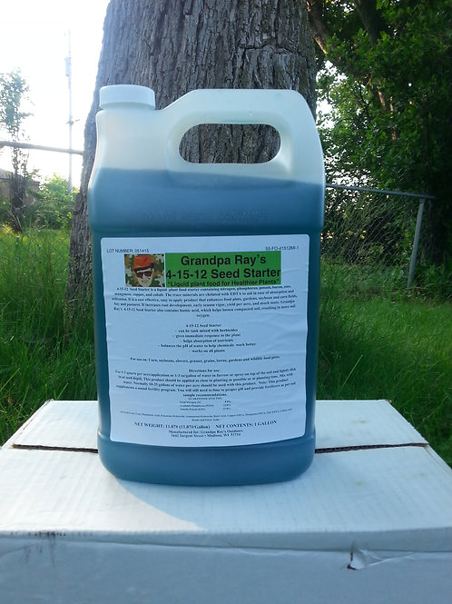 4-15-12 Seed Starter 1 Gallon