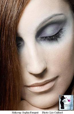 maquillage beauté par Popsie maquilleuse professionnelle Paris Saint Malo Rennes Lyon Macon photo Leo Caillard