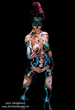 Bodypainting paris bodypainter World bodypainting festival france photographe janis mockelmann