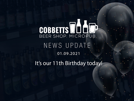 It's our 11th Birthday today!