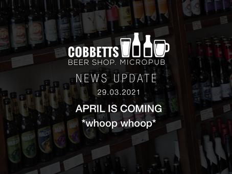 COBBETTS NEWS 29.03.21