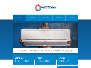 Sutton Cooling and Maintenance Website