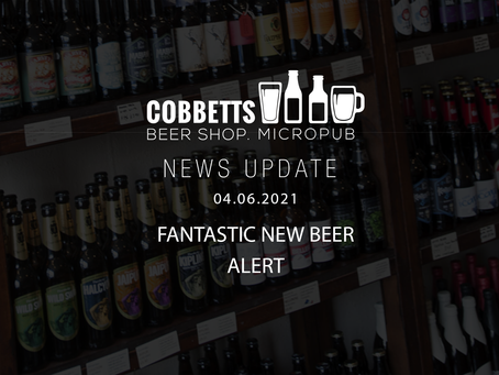 JUNE 'Fantastic Beer Alert' featuring more BIG Hoppy IPAs and NEW Mixed Fermentation Sours!
