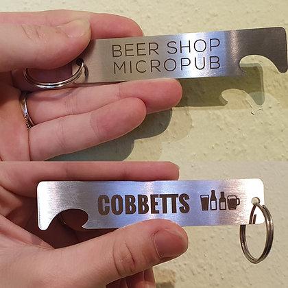 Cobbetts Key Ring & Bottle Opener