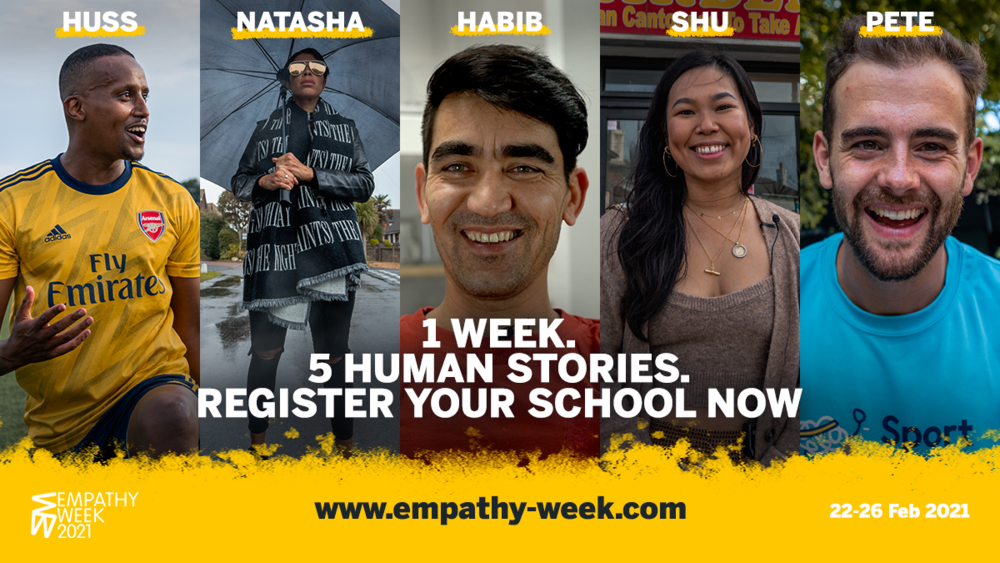 Mentioned in Empathy Week's Newlsetter