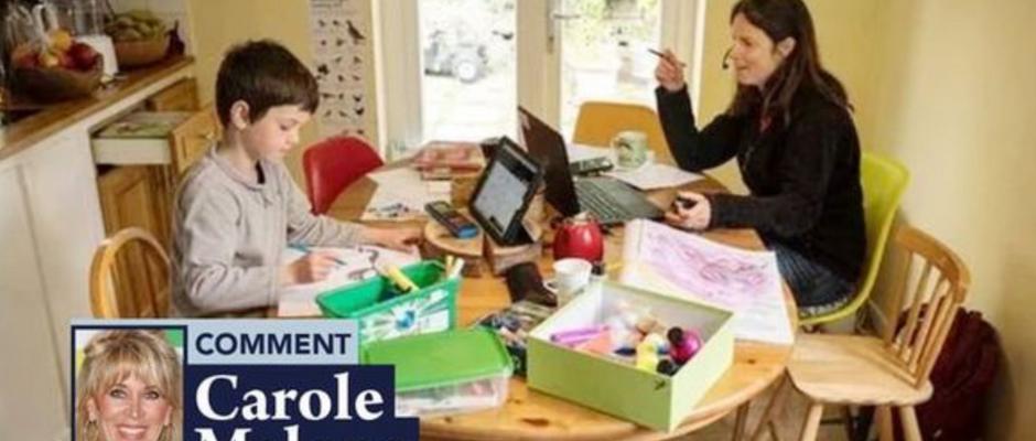 Teen tutors teach unions a life lesson, says CAROLE MALONE