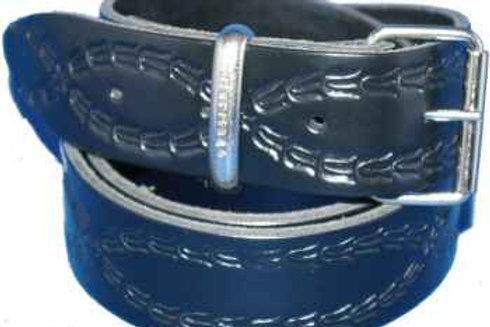 38mm Florentine pattern Belt with Buckle