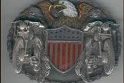 USA BIKER BUCKLE W8