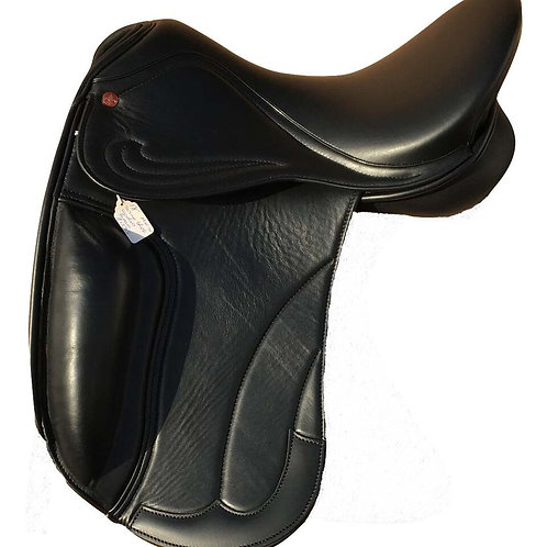 De Lux Dressage Calf Covered Flap and Skirt