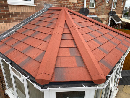 This is a replacement glass roof to equinox warm roof