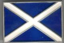 ST ANDREW FLAG BUCKLE (SCOTLAND)dd610