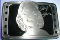 MARILYN MONROE BUCKLE MM1BLACK