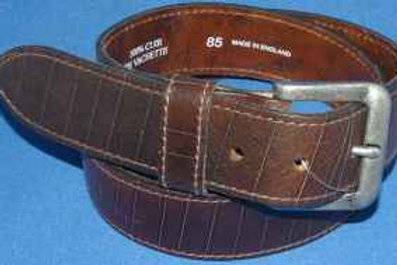 Brown Real Leather Belt By Devred