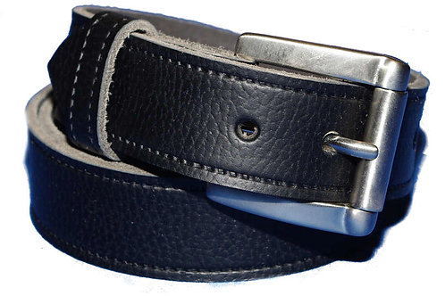 Abbey Hand Crafted Black Belt 35mm