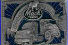 MACK TRUCK BUCKLE LTD ED MT1