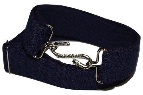 Adults Elasticated Belt Blue