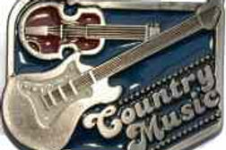 COUNTRY MUSIC BUCKLE EB2270
