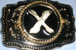 LETTER X BUCKLE RCW167X
