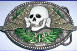 Skull Wings Buckle dd616