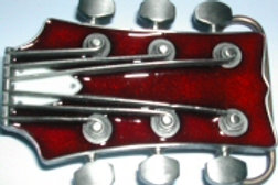 Guitar Buckle O260RED