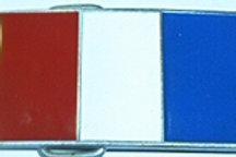 FRANCE FLAG BUCKLE UL206