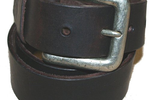 CHOCOLATE BROWN TROUSER JEANS BELT