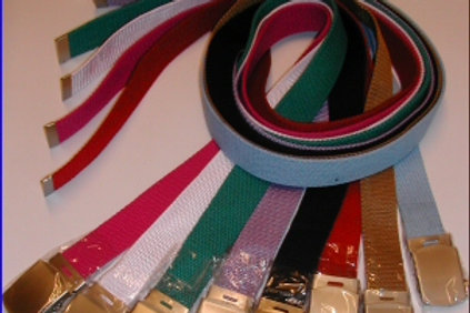 designer web belts