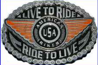 LIVE TO RIDE BUCKLE BBMC01